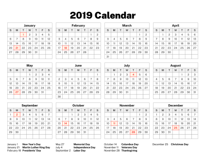 Calendar 2019 -2021 Old Calendars   Look up any date in the past