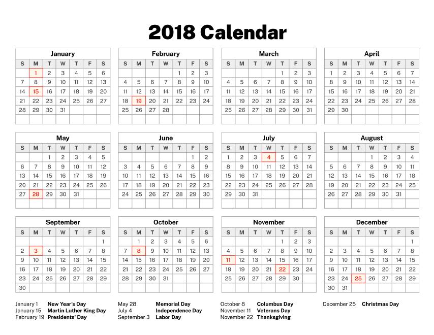 2018 Calendar Old Calendars