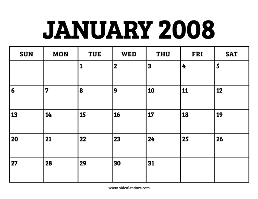January 2008 - Roman Catholic Saints Calendar
